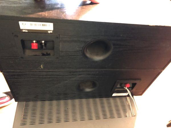 Kardon home house receiver and to Polk audio sub and voice sound