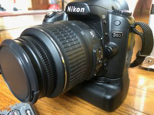 Nikon D80 DSLR Camera with Extras for Sale in North Providence, RI