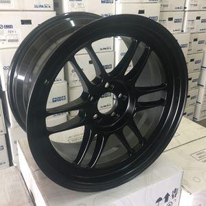 New Enkei RPF1 Rims 17x9 +35 5x100 Black for Sale in Cypress, CA