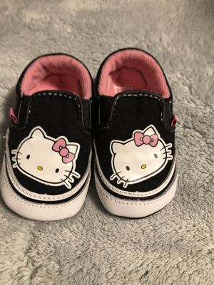 Hello Kitty size 2c VANS for Sale in Colorado Springs, CO