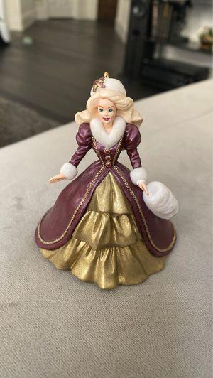 Hallmark keepsake holiday ornament 1996 holiday Barbie for Sale in Rocklin, CA