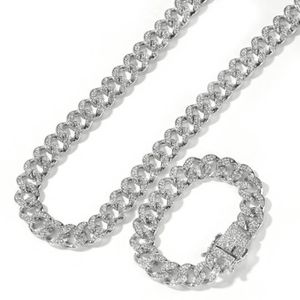 Silver Imitation Cuban Link Chain And Bracelet, Comes As A Set Or You Can Purchase Separately For $35 for Sale in Columbia, SC