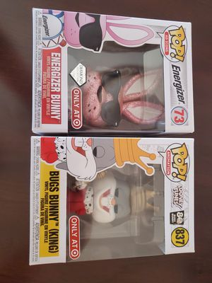 Energizer Bunny and Bugs Bunny Funko Pop! for Sale in Chino, CA