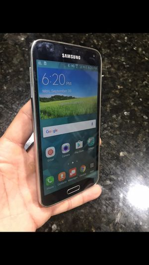 Samsung Galaxy s5. Brand new condition. Factory unlocked! for Sale in Glendale, AZ