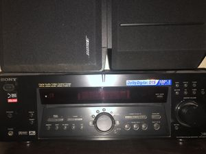 Sony Receiver and Two Bose Speakers for Sale in Portland, OR