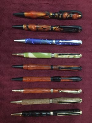 Hand crafted refillable pens 🖊 for Sale in Glendale, AZ