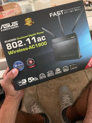 Asus wireless router for Sale in Bellaire, TX