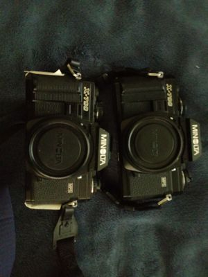 Two NON-WORKING Minolta X-700 35mm film cameras, for parts or repair for Sale in San Diego, CA