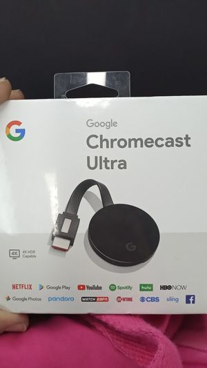 Chromecast Ultra for Sale in North Las Vegas, NV