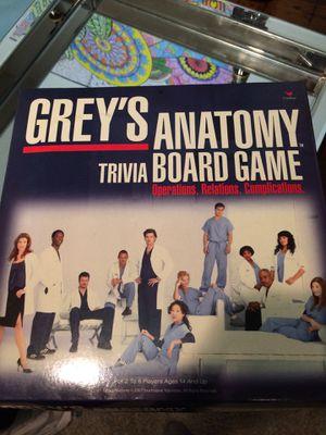 Greys anatomy board game for Sale in Jonesboro, AR