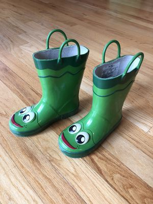 Frog Rain Boots - kids size 10 for Sale in Tewksbury, MA