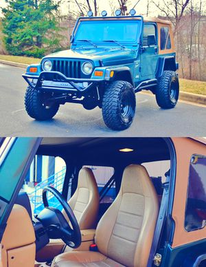 🙈Full Price $10OO Wrangler TJ 2.0.0.0 Immaculate condition🙈 for Sale in Arlington, VA