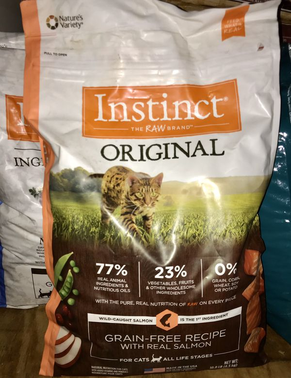 Instinct Dry Cat Food - 3 bags 50% Off