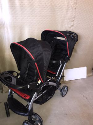 New baby trend double stroller for Sale in Las Vegas, NV