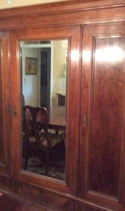 mahogany antique 1920s armoire for Sale in Lakeland,  FL