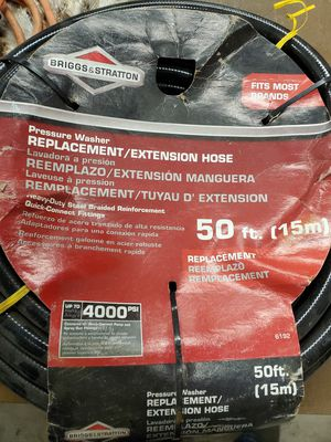 Pressure washer hose 50ft.new for Sale in Grafton, OH