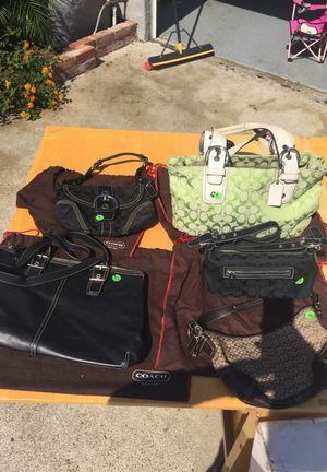 Coach purses for Sale in Poway, CA