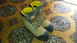 Steel toed Chinook men's work boots size 9 for Sale in Anchorage, AK