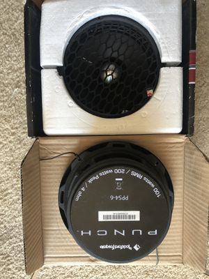 Rockford pps 4-6 pro audio for Sale in Saint Clair Shores, MI