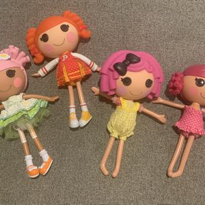 Large Lalaloopsy dolls $15 each or $40 for all 4 for Sale in Old Bridge Township, NJ