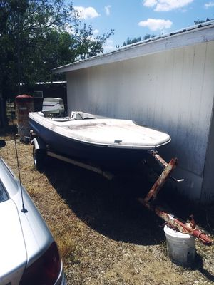 Trailer and boat for Sale in Spicewood, TX