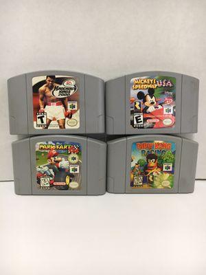 N64 GAMES BUNDLE for Sale in Garden Grove, CA
