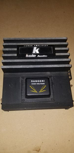 KOLE AUDIO HK480-2 AMP for Sale in San Antonio, TX