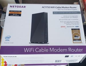Brand new Netgear AC1750 WIFI Cable modem router for Sale in Surprise, AZ