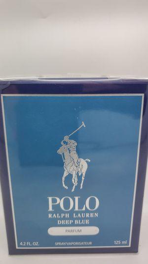 Ralph Lauren Deep Blue Parfum 4.2 Oz Men Cologne for Sale in Los Angeles, CA
