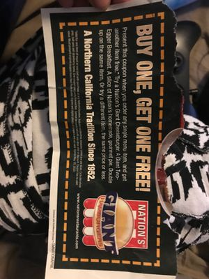 Free coupon/ expires today for Sale in Stockton, CA