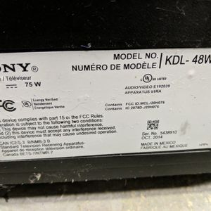 Sony and Panasonic TV's (Broken Screen) for Sale in Auburndale, FL