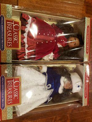 Genuine fine bisque porcelain dolls for Sale in Rowlett, TX