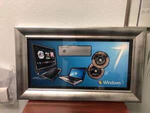 Steve Ballmer , former CEO of Microsoft signed award PC innovation to Hewlett-Packard date 10/22/2009 for Sale for sale  San Jose, CA