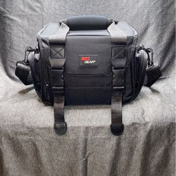 """Ritz Gear"" Premium DSLR Camera Bag. (Adjustable Strap, 4 Interior adjustable dividers, 3 Exterior Pouches, 1 Intnterior Mesh Pouch) for Sale in Milton,  FL"