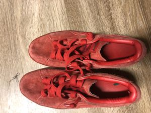 Red suede pumas for Sale in Phoenix, AZ