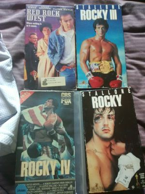 Rocky Movies and Other for Sale in Kingsport, TN