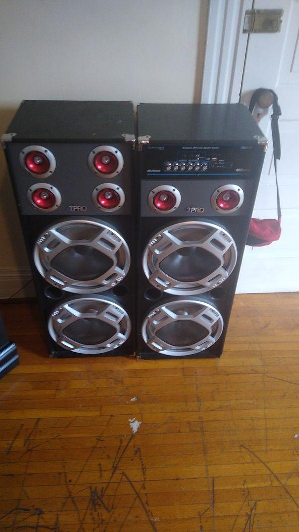 T pro speakers