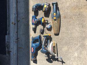 Ryobi 18V tool set for Sale in Concord, CA