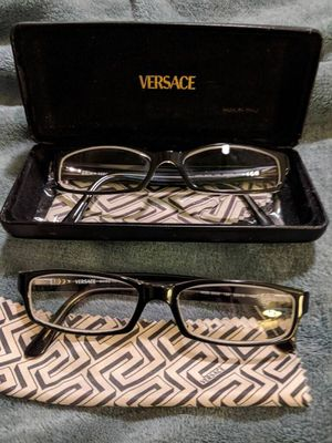 Authentic Versace eyeglasses. Two of the same frame, will sell together or separate. for Sale in Santa Ana, CA