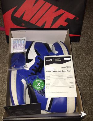 Air Jordan 1 High Game Royals (size 11) for Sale in West Columbia, SC