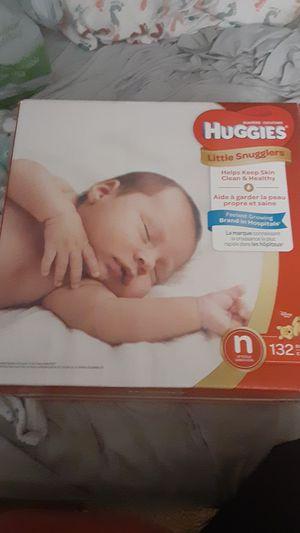Huggies newborn diapers for Sale in Chula Vista, CA