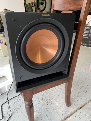 "Klipsch 12"" home stereo sub for Sale in Vancouver, WA"