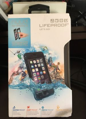 LifeProof Nuud iPhone 6 water/dirt/snow/shock proof for Sale in Silver Spring, MD
