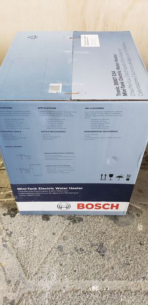Electric water heater, Bosch 3000 ES4 for Sale in Miami, FL