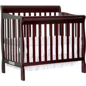 Dream On Me Aden 4-in-1 Convertible Mini Crib - Espresso for Sale in Elkridge, MD