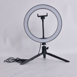 LED selfie ring light with tripod stand for for Live Stream/Makeup for Sale in Fort Worth,  TX