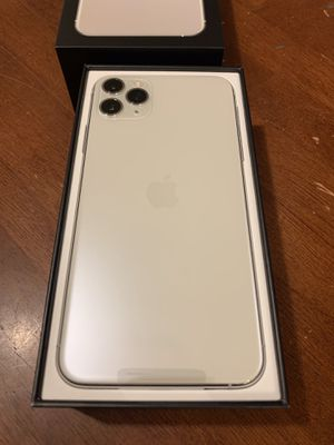 Apple iPhone 11 Pro Max 64GBs Unlocked (White) for Sale in Boston, MA
