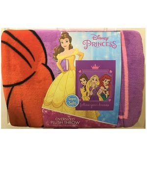 Disney Princess Throw $18 for Sale in Arlington, VA