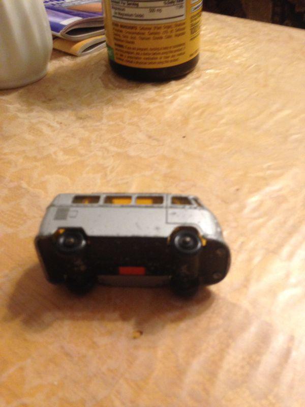53 VW camper van matchbox black wheels