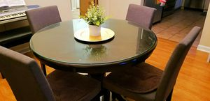Round Dinette Table with 4 Chairs for Sale in Los Angeles, CA